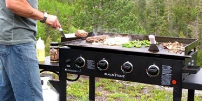 Best Outdoor Griddles Featured