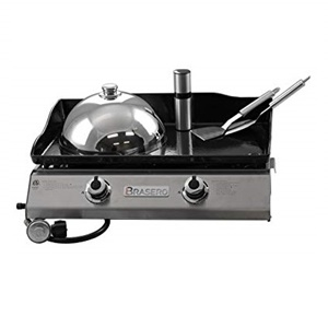 Brasero Portable 26 inch outdoor Flattop Gas Griddle