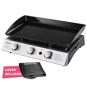 Royal Gourmet PD1300 Portable 3-Burner Propane Gas Griddle
