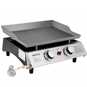 Royal Gourmet Pd1201 Portable 2-Burner Propane Gas Griddle