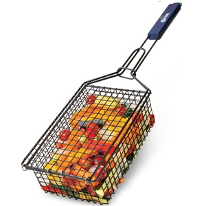 CORONA BBQ GRILL ACCESSORIES – GRILLING BASKET WITH LOCKING GRILL HANDLE
