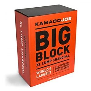 KamadoJoe KJ-CHARBOX Hardwood Extra Large Lump Charcoal
