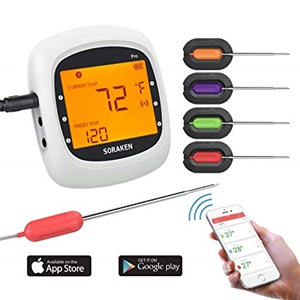 Soraken GM-001 Bluetooth Wireless Meat Thermometer