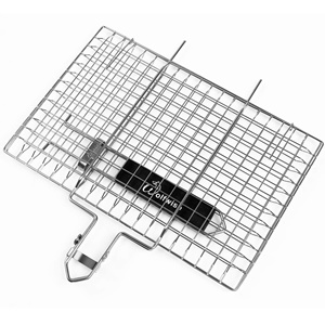 WOLFWISE PORTABLE BBQ GRILLING BASKET 430