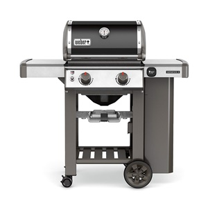 Weber-Stephen 60010001 Liquid Propane Grill, Two-Burner, Black