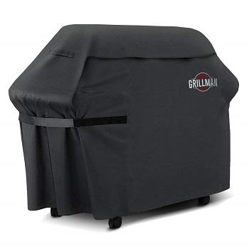 Grillman Premium (58 Inch) BBQ Grill Cover, Heavy-Duty
